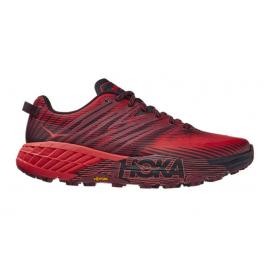 Zapatillas trail running Hoka Speedgoat 4 rojo hombre