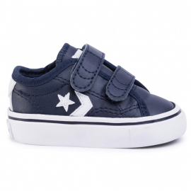 Zapatillas Converse Star Replay 2V marino bebé