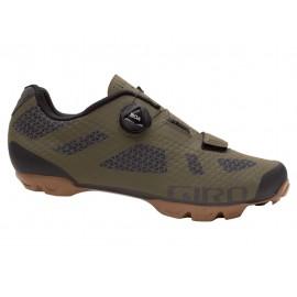 Zapatillas Giro Rincon olive-gum mtb
