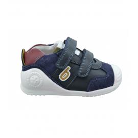 Zapatillas Biomecanics 201130 azul marino bebé