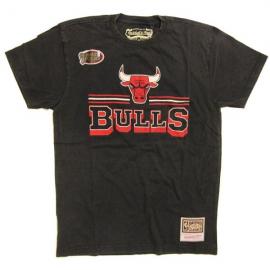 Camiseta Mitchell&Ness Fan Bulls negro/rojo hombre