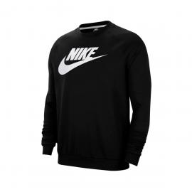 Sudadera Nike Sportwear Fleece negro hombre