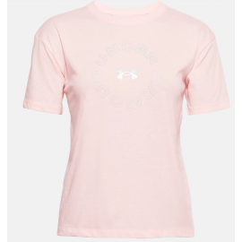 Camiseta Under Armour Live Fashion Graphic rosa mujer