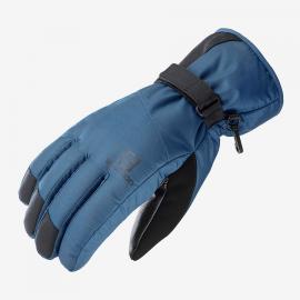 Guantes Salomon Force Dry M azul hombre