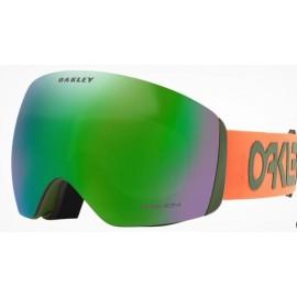 Mascara esquí Oakley Flight Deck L naranja prizm jade ird