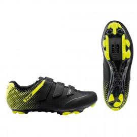 Zapatillas Northwave Origin 2 negro-amarillo Mtb-Xc hombre
