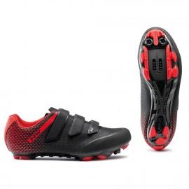 Zapatillas Northwave Origin 2 negro-rojo  Mtb-Xc hombre