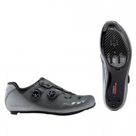 Zapatillas Northwave Extreme Gt 2 antracita-plata refle road