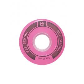 Ruedas patrines KRF ACC School 58x32mm rosa