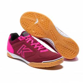 Zapatillas Fútbol Sala Kelme Precision burdeos/rosa