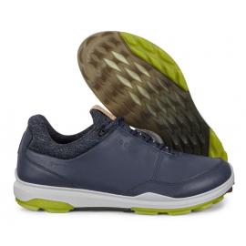 Zapatos golf Ecco Biom Hybrid 3 azul hombre