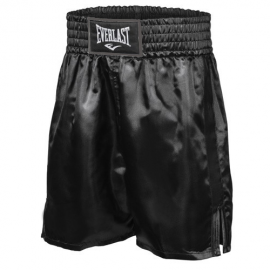 Pantalón boxeo Everlast Pro Boxing Trunks negro