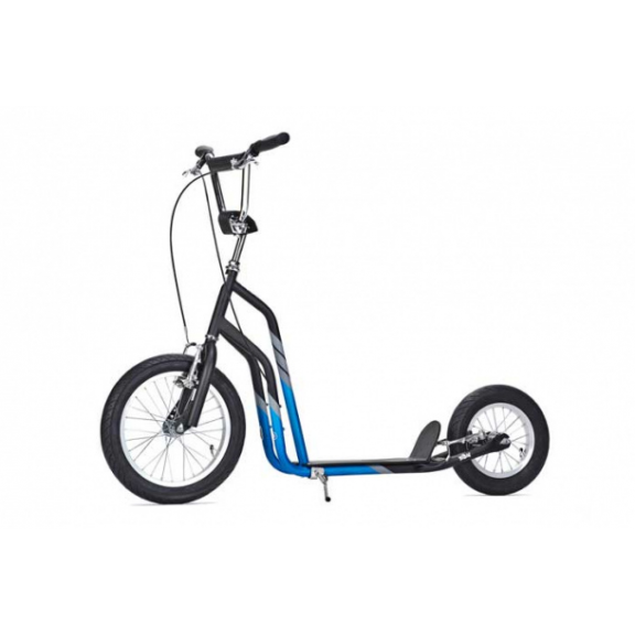 Patinete con freno Yedoo City Scooter negro azul