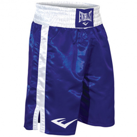 Pantalón boxeo Everlast Pro Boxing Trunks azul