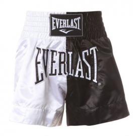 Pantalón boxeo Everlast Thai Boxing blanco/negro