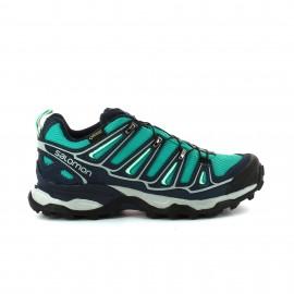 Zapatillas trekking Salomon X Ultra 2 GTX W verde mujer