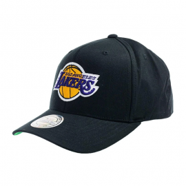 Gorra Mitchell&Ness Team Logo Lakers 6 paneles negro