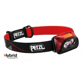 Frontal Petzl Actik Core 450 lúmenes rojo