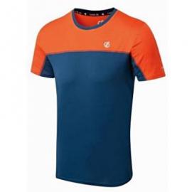 Camiseta Dare2B Notable Tee azul/naranja hombre