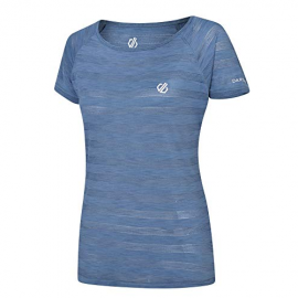 Camiseta Dare2B Defy Tee azul mujer