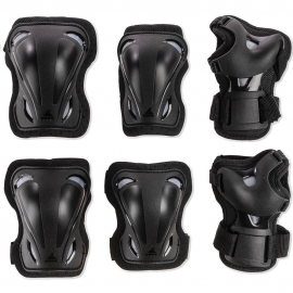 Protecciones Rollerblade Skate Gear 3pack negro