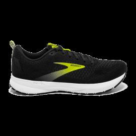 Zapatillas running Brooks Revel 4 negro amarillo hombre