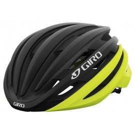 Casco Giro Cinder Mips matte black fade-highlight yellow