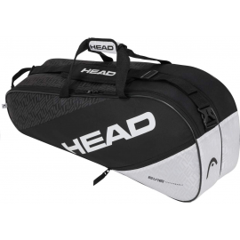 Raquetero Head Elite 6R Combi negro/blanco