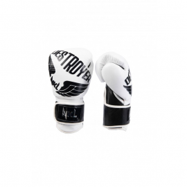 Guantes boxeo NKL Destroyer 2.0 blanco/negro