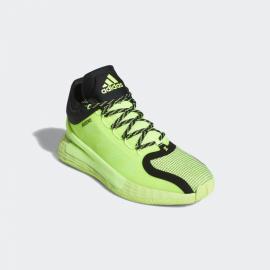 Zapatillas baloncesto adidas D Rose 11 verde flúor negro