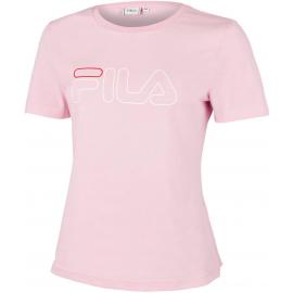 Camiseta manga corta Fila Ladan rosa mujer