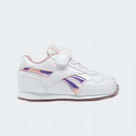 Zapatillas Reebok Royal Clog blanco/rosa metal bebé