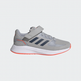 Zapatillas adidas RunFalcon 2.0 C gris/azul niño