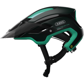 Casco Abus Montrailer Ace Mips smargd green