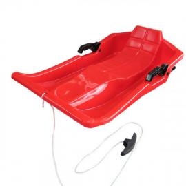 Trineo Jausum 1 Plaza + tirador 78x42cm rojo