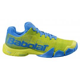 Zapatillas pádel Babolat Jet Premura amarillo/azul hombre