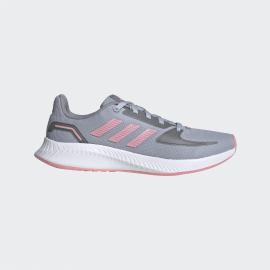 Zapatillas adidas Runalfalcon 2.0 K gris/rosa junior