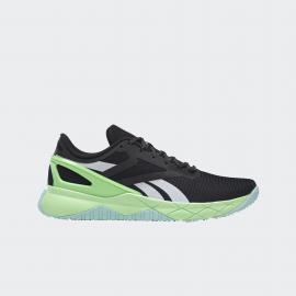 Zapatillas Reebok Nanoflex TR negro/blanco/verde hombre