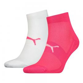 Calcetines Puma Performance Train Light rosa/blanco