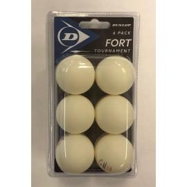 Pelota ping pong Dunlop 40+ Club Champ 6 ball