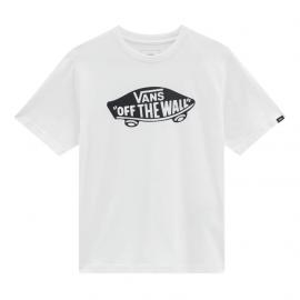 Camiseta Vans By OTW blanco negro junior