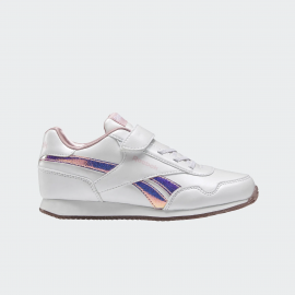Zapatillas Reebok Royal Clog blanco/rosa metal niña