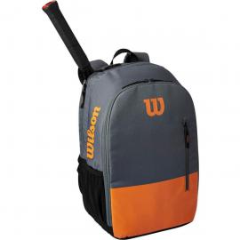 Mochila tenis Wilson Team Backpack gris/naranja