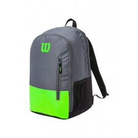 Mochila tenis Wilson Team Backpack verde/gris