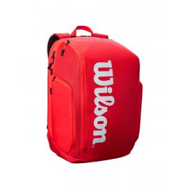 Mochila tenis Wilson Super tour Backpack rojo