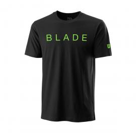 Camiseta Wilson Blade Franchise Tech negro hombre