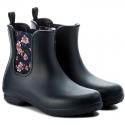 Botas de agua Crocs Freesail Chelsea Boot marino mujer