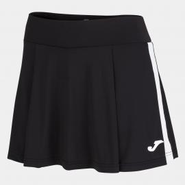 Falda tenis/pádel Joma Torneo negro/blanco mujer