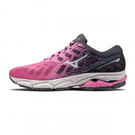 Zapatillas running Mizuno Wave Ultima 12 rosa/gris mujer