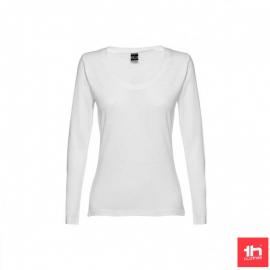 Camiseta manga larga TH Clothes Bucharest blanco mujer